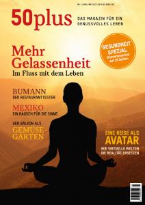 50plus Ausgabe zum Thema Gelassenheit
