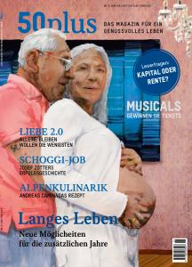 50plus Ausgabe zum Thema Langes Leben